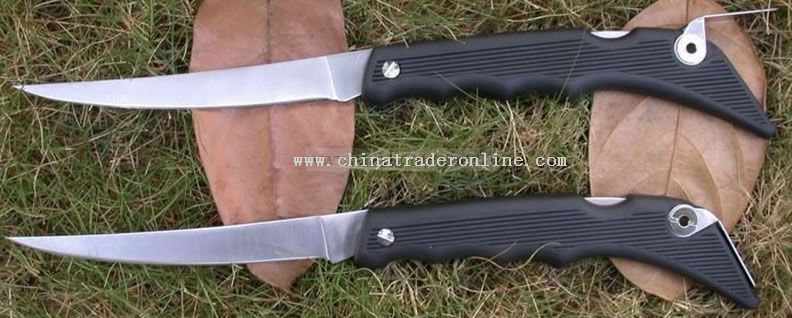 Folding Fillet Fishing Knife