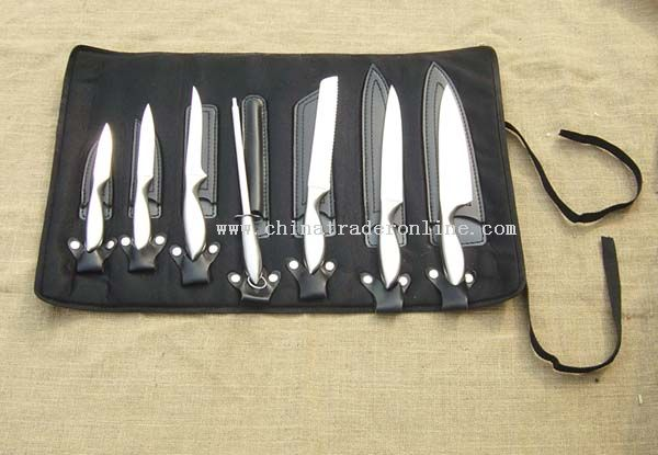 Outdoor Kitchen Knife Set