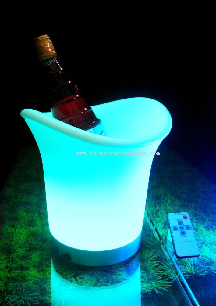 LED Ice Wine Bucket