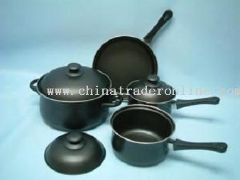 7 Pcs Non-Stick Cookware Set
