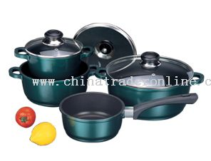 7pc Cast Aluminum Cookware Set