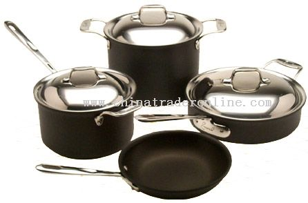 Hard Anodized Aluminum Cookware Set