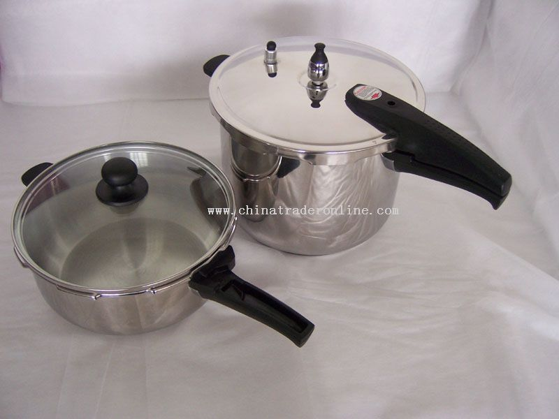 4 Pcs Pressure Cooker Set