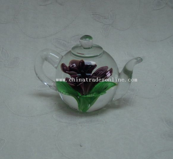 Art Glass Tea Pot