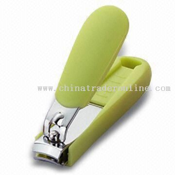 Chrome-plated Nail Clipper with Curved Blade