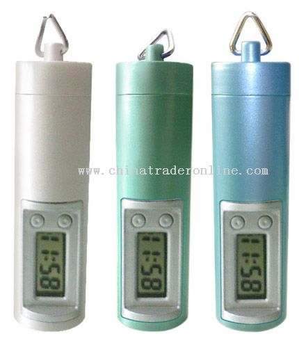 Keychain Water Power Clock