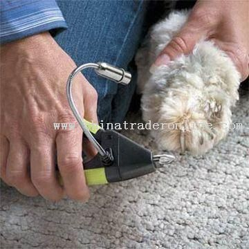 Careful Dog Nail Clipper with LED light