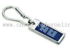 Epoxy Center Carabiner Keytag