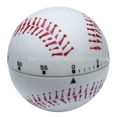 baseball-shaped timer