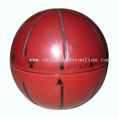 basketball-shaped timer
