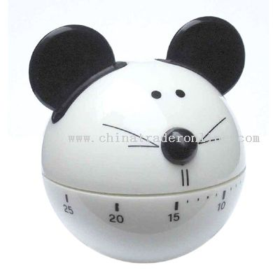 cartoon mouse shaped timer