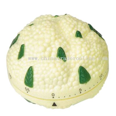cauliflower shaped timer from China