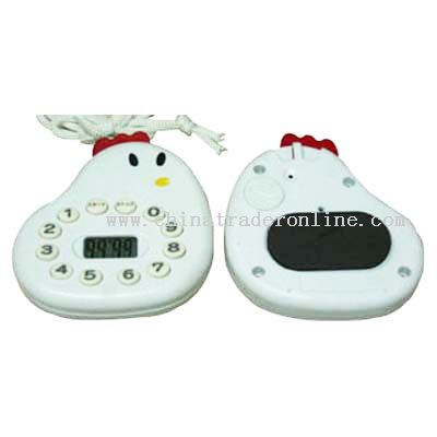 chicken-shaped timer
