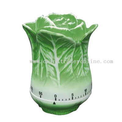 Chinese cabbage shaped timer