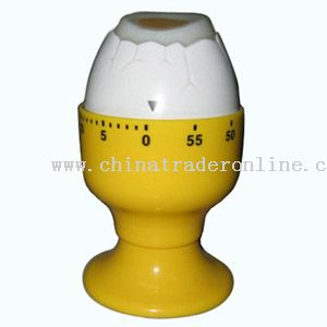egg-cup shaped timer