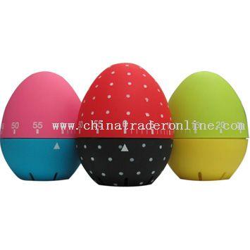 egg-shaped timer