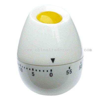 egg yolk shaped timer