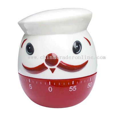 fat chef shaped timer