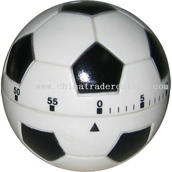 football-shaped timer