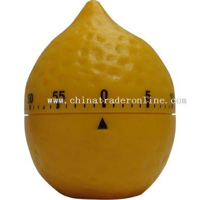 middling lemon shaped timer