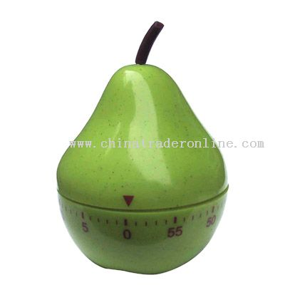 pear-shaped timer