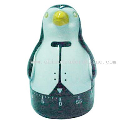 penguin-shaped timer