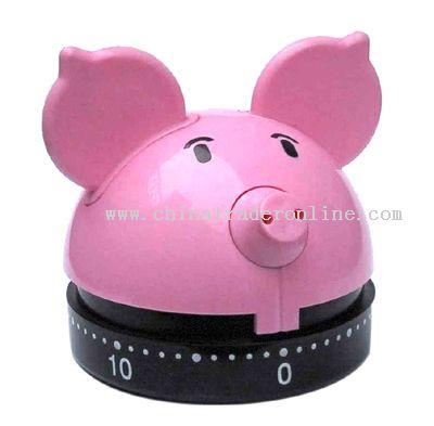 pig-shaped timer
