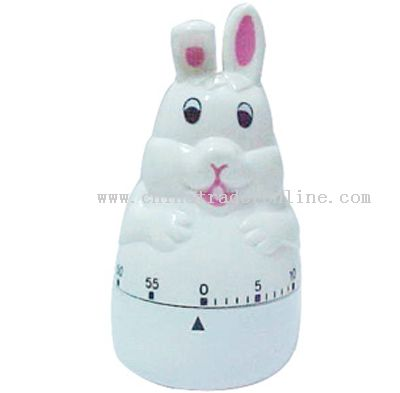 rabbit-shaped timer