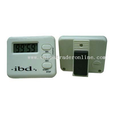 small square-shaped timer