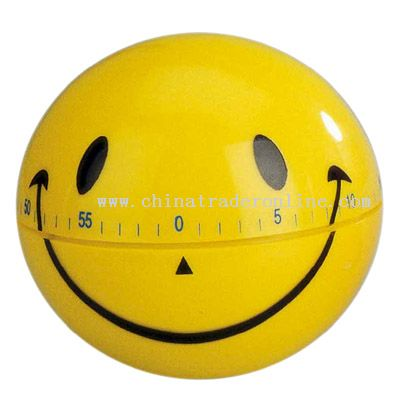 smile-face shaped timer