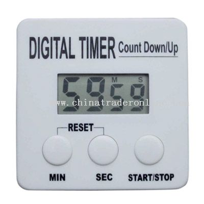 square-shaped timer
