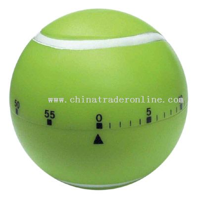 tennis ball shaped timer