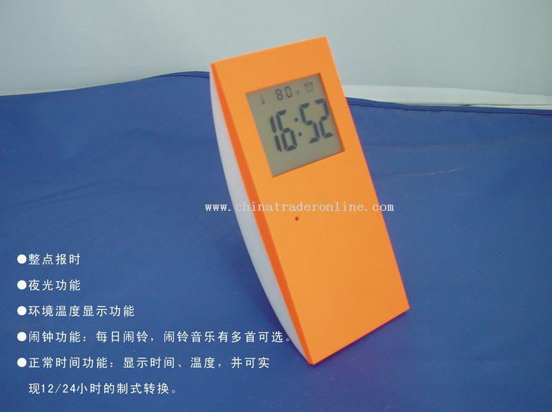 LCD timer clock