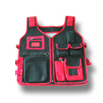 HEAVY DUTY SIX POCKET TOOL VEST