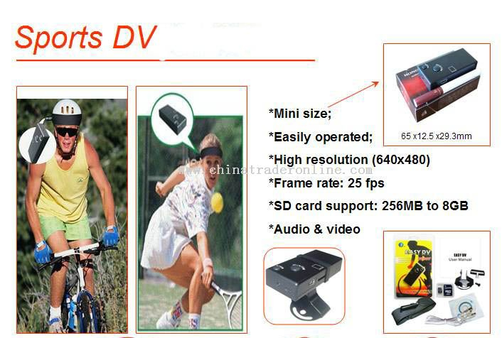 Sports DV Camera