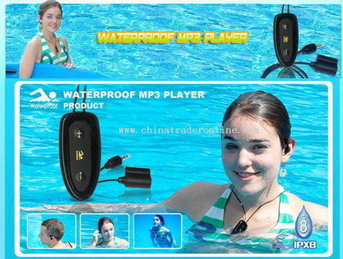 Necklace Waterproof Mp3 Player