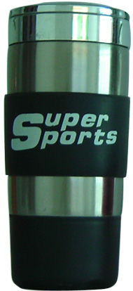 380ml stainless steel super sports mugs