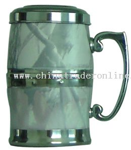 400ml stainless steel desk mug