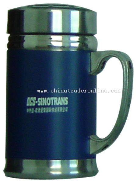 400ml stainless steel mugs.