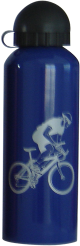 500ml single-wall stainless steel sports bottle