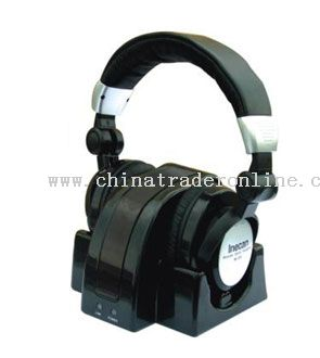 CE ROHS  2.4G wireless headphone