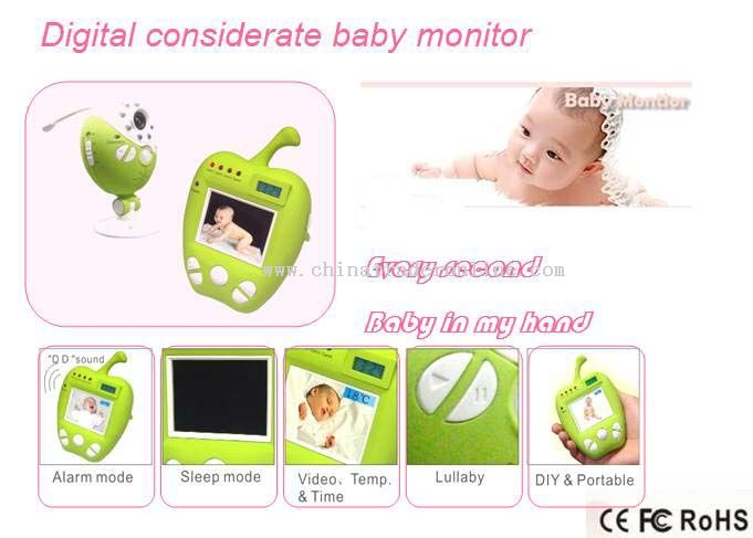 Digital considerate baby monitor