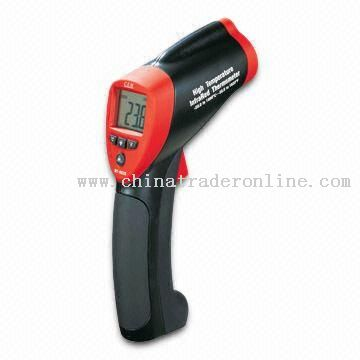 Infrared Thermometer with Built-in Laser Pointer and Automatic Data Hold