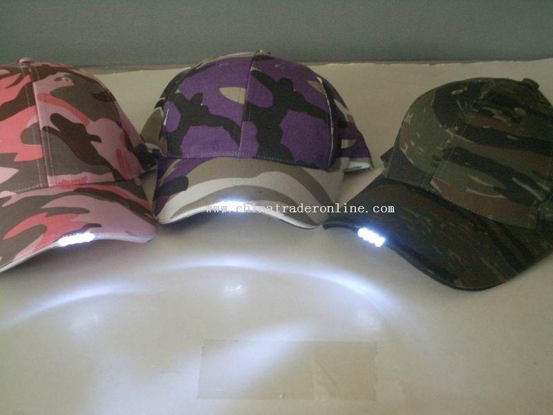 blinking cap