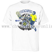 Brazil World Cup 2010 Player T-Shirt