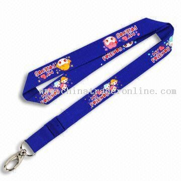 FIFA 2010 Promotional Lanyard, Made of Combed Cotton Material