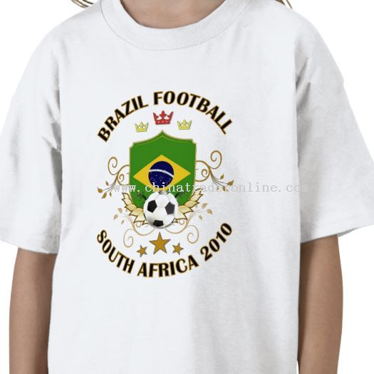 Brazil Football Soccer World Cup 2010 T-shirt