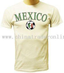 Mexico T-shirt World Cup Soccer Pride T-shirt Mexican