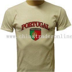 Portugal T-shirt World Cup Soccer Pride T-shirt