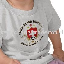 Switzerland Football Soccer World Cup 2010 T-shirt